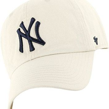 MLB mens Men's '47 Brand Clean Up Cap One-Size