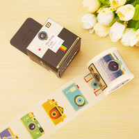 4cm*10m vintage camera washi tape diy decoration scrapbooking masking tape adhesive tape kawaii stationery