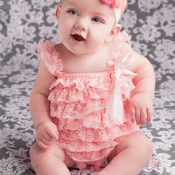 Infant Lace Romper Toddler Jumper Baby Infant Romper Toddler Summer outfit Baby Set Photography Prop Birthday Party Baby Romper Lace