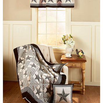 Black Country Barn Star Home Accents & Decor