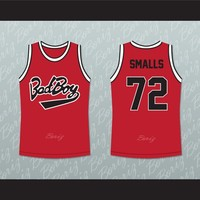 Notorious B.I.G. Biggie Smalls 72 Bad Boy Basketball Jersey New
