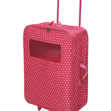 Badger Basket Double Trolley Doll Carrier - Pink