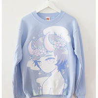Demonboy Crewneck Sweater