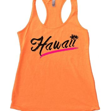 Hawaii Womens Workout Tank Top