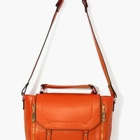 Blair Messenger Bag - Orange