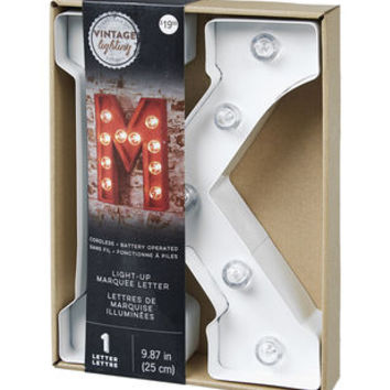 Metal Marquee Letters 10'' White at Joann.com
