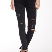 Thompson Tomboy Destructed Skinny Jean