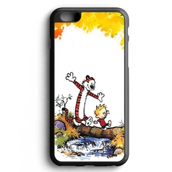 Custom Case Cartoon Comic Calvin And Hobbes for iPhone Case & Samsung Case