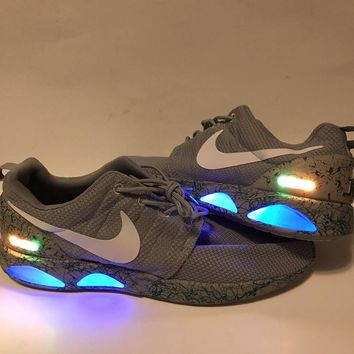 Nike Roshe Run Custom AIR MAG! Size 10, Brand New!