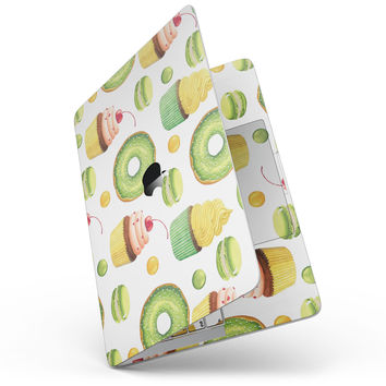 Yummy Galore Bakery Green Treats V1 - MacBook Pro without Touch Bar Skin Kit