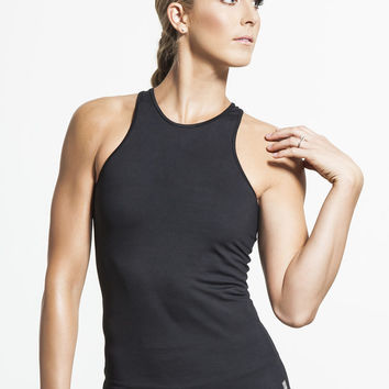 Fast High Neck Tanks in Black