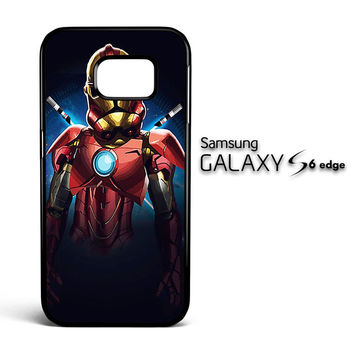 Iron Man Clone V1161 Samsung Galaxy S6 Edge Case