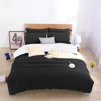 Two-tone Bedding Sets King Custom Size Duvet Cover