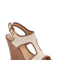 MICHAEL Michael Kors 'Gillian' Wedge Sandal (Women) | Nordstrom
