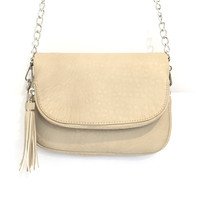 Dandy Crossbody Handbag In Grey