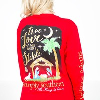 The King Is Born Sweatshirt | Simply Southern