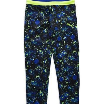 puma girls 2 6x galaxy patterned active pants  number 1