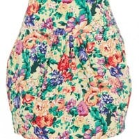 Floral tulip skirt Multi-colour - What's New