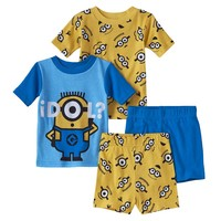 Despicable Me ''Idol'' Minion Pajama Set - Toddler Boy, Size: