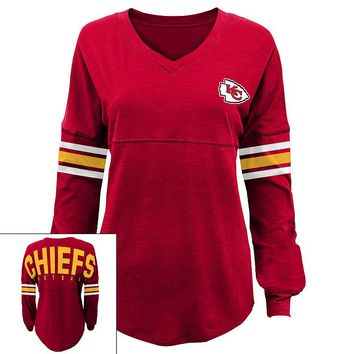 Kansas City Chiefs Slub Jersey Tunic - Juniors