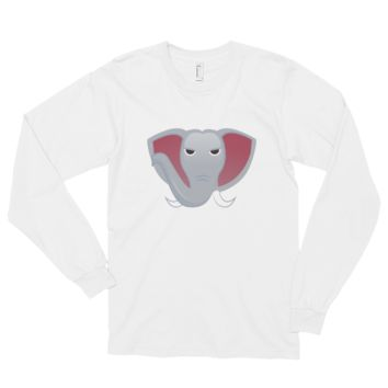 Spirit Alabama Emoji Unisex Long Sleeve T-shirt