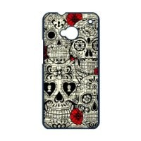 Floral Sugar Skull HTC ONE M7 Case Protectors