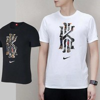 Nike spring new men's casual basketball Owen round collar breathable and sweat short sleeve