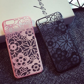 Vintage Lace Floral iPhone 5s 6 6S Plus Case Cover + Nice Gift Box
