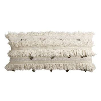 cupcakes and cashmere Fringe Sequin Accent Pillow | Nordstrom