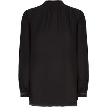 Christopher Kane Studded Cuff Blouse | Harrods