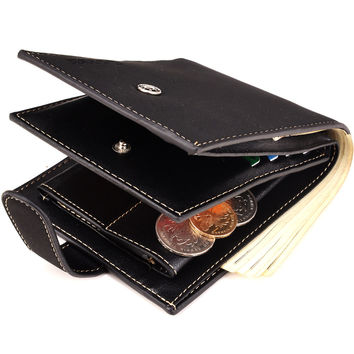 Men Wallet Korean PU Leather Purse [8830606275]