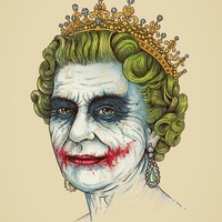 """God Save The Villain"" - Art Print by Enkel Dika"