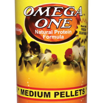 Omega one goldfish pellet fish food from pet smart for Omega one fish food