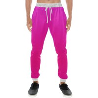 Pink Design 2 Men's All Over Print Casual Jogger Pants