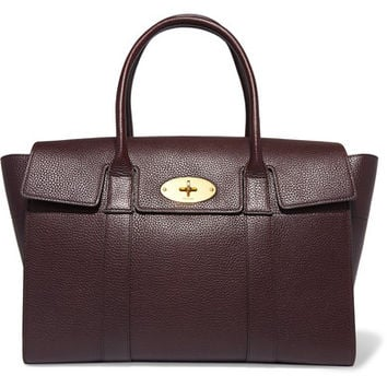 Mulberry - The Bayswater textured-leather tote