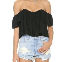 Sound Off Shoulder Bustier