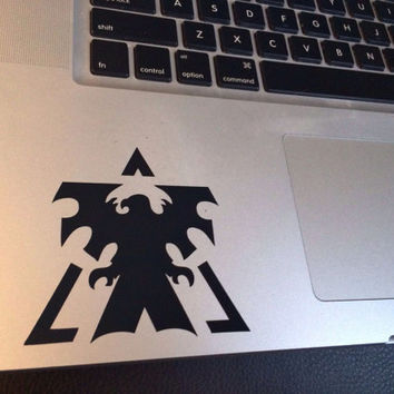 Terran Vinyl Decal Star Craft 2