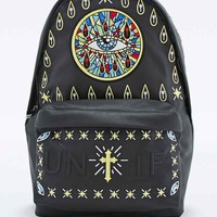 UNIF Church of Unif Backpack in Black - Urban Outfitters
