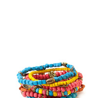 Eclectic Beaded Bracelet Set