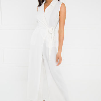 Cool It Jumpsuit - White