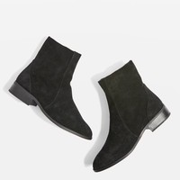 KRASH Suede Sock Boots - Boots - Shoes