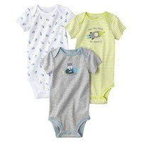 Just One You™Made by Carter's® Newborn Boys' 3 Pack Bodysuit - Yellow