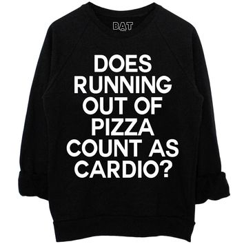 Cardio Sweatshirt - Black