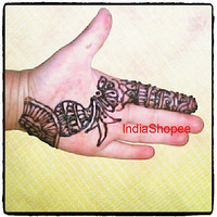 12 Cones Brown Henna Mehandi, Temporary Tattoo Ready Mixed Henna Tattoo Pre Mixed Paste Hand Rolled Cones, Bridal Henna Mehndi Cone Paste