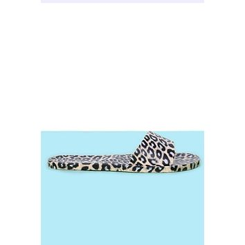 Leopard Jelly Slides