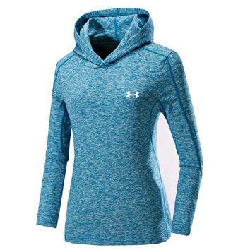 One-nice™ UNDER ARMOUR Women Men Lover Top Sweater Hoodie Blue