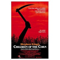 stephen KING'S children OF THE CORN movie poster linda HAMILTON horror 24X36
