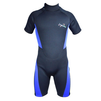Sports Free Diving Wetsuit 3mm Neoprene Short Pants Plus-size Sleeves 2016 New Layatone B1619