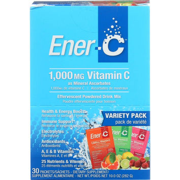 Ener-c Ener-c - Variety Pack - 1000 Mg - 30 Packets - 1 Each