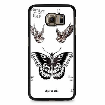 Tattoo Harry Style One Direction Samsung Galaxy S6 Edge Case